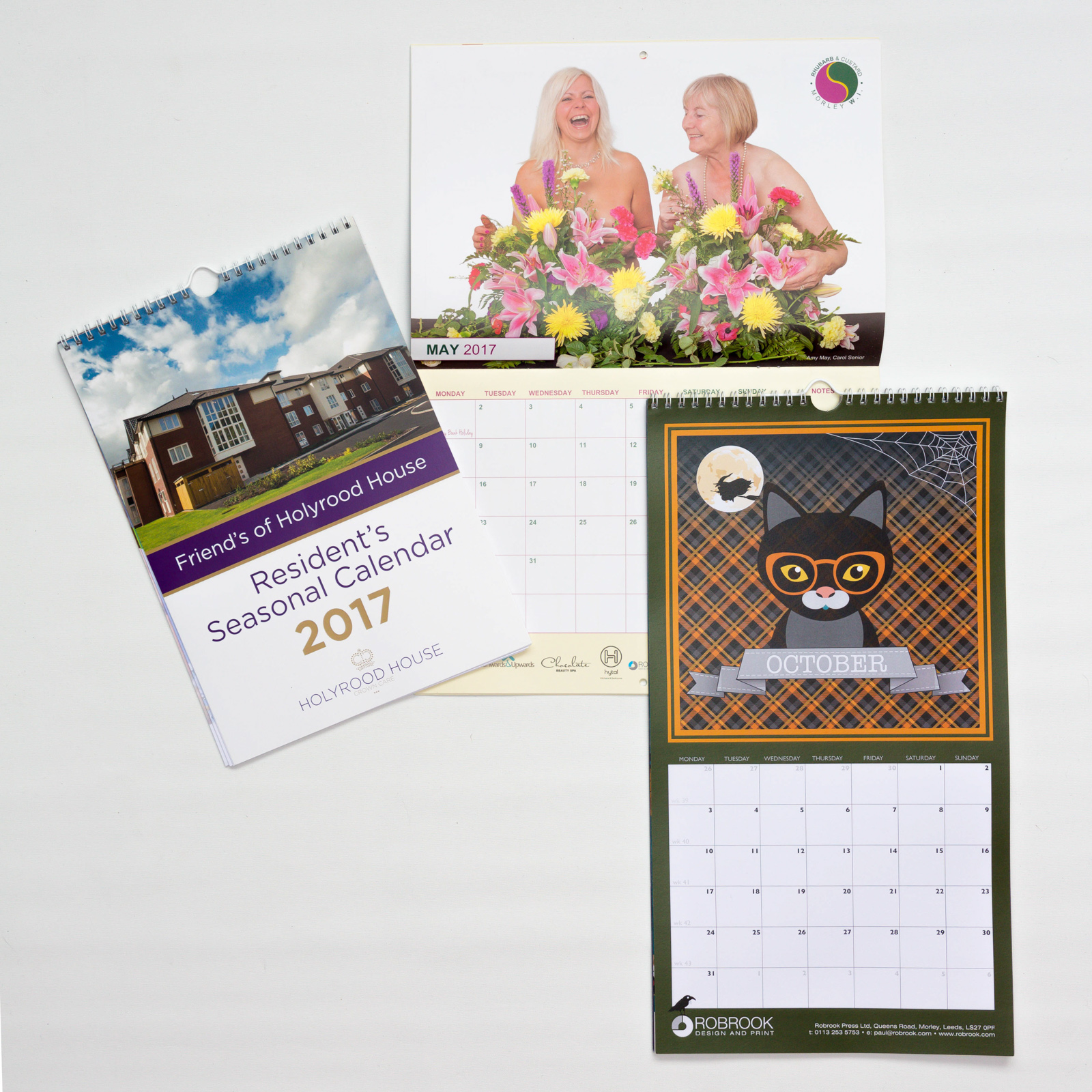 Calendars Greetings Cards Robrook Design Print