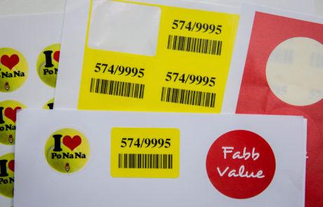 Promo labels