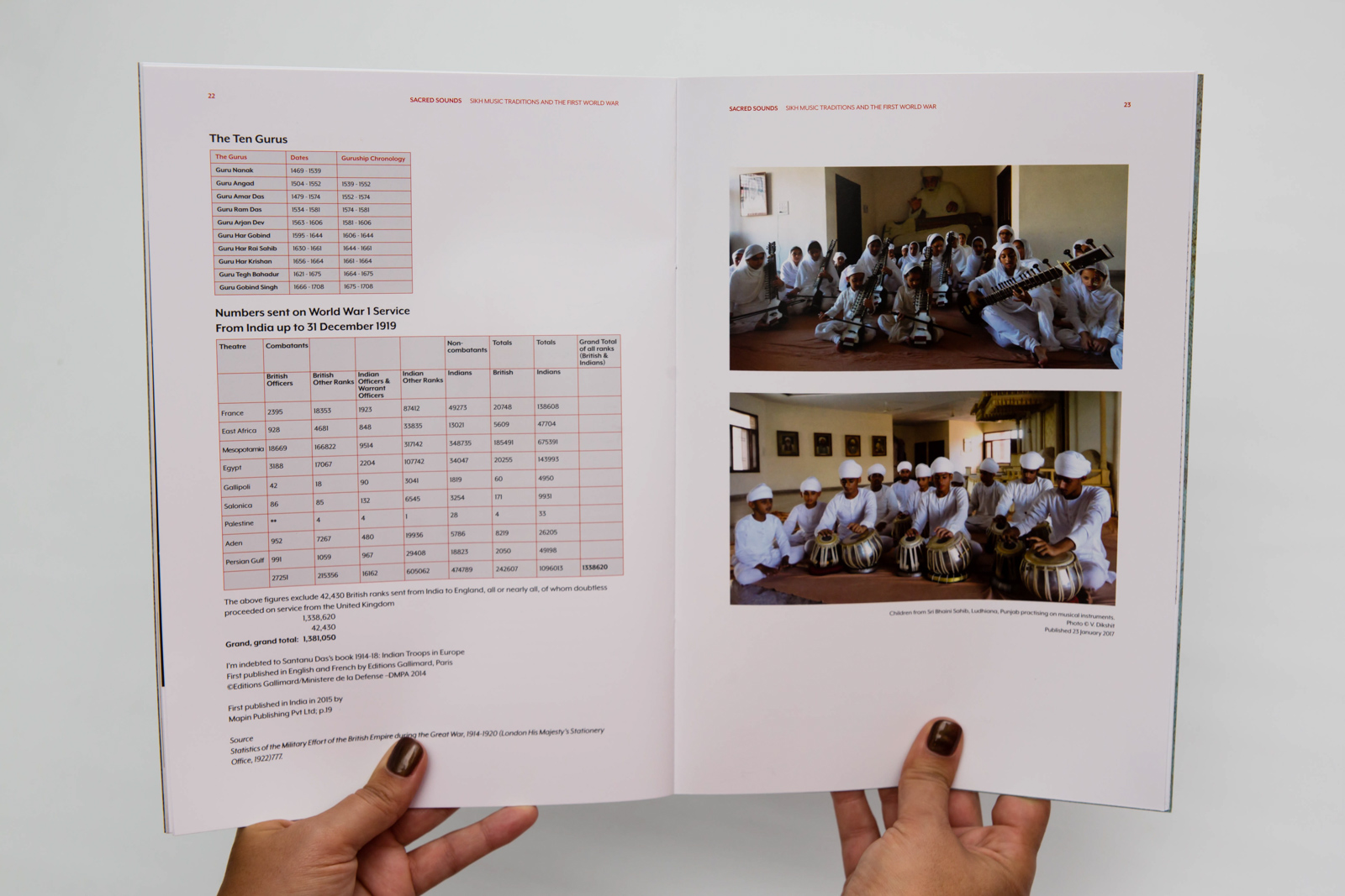 Menu's and Brochures